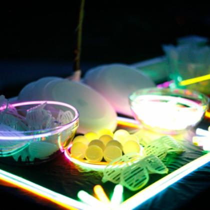outdoor glowing activities