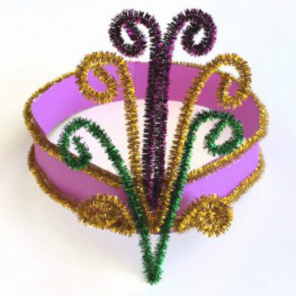 pipe cleaner headpiece