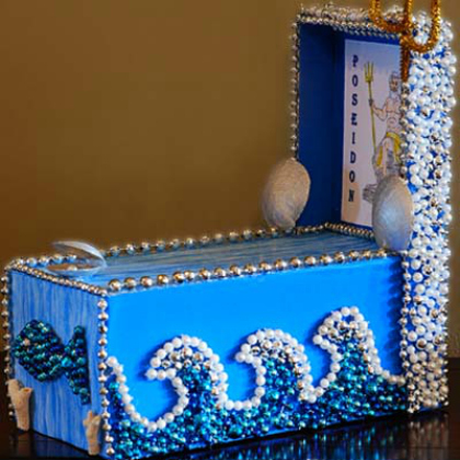 shoebox float