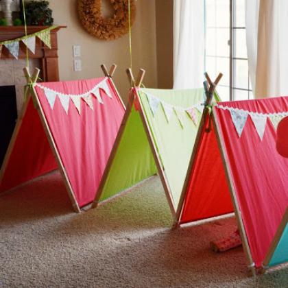 sleeping tents