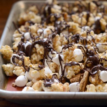 smores popcorn