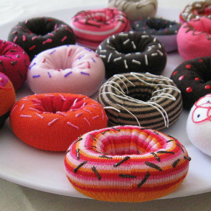 toy donut icing