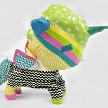 washi tape unicorn