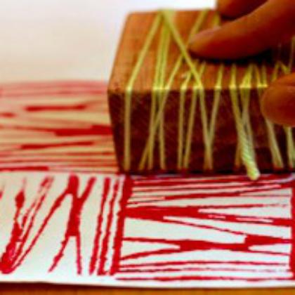 yarn block