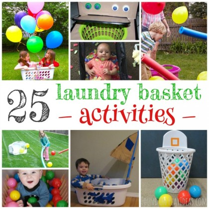 25 Boredom Busting Laundry Basket Games For Preschoolers