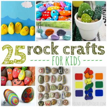 25 Rockin' Rock Crafts For Kids