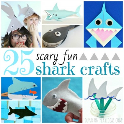 25 Scary-Fun Shark Crafts For Kids