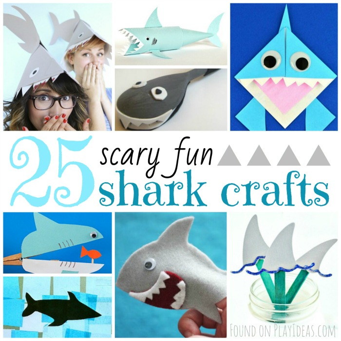 25 Scary Fun Shark Crafts For Kids