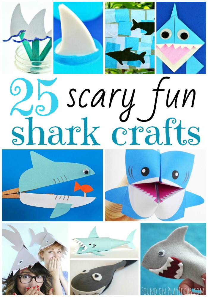 Shark Crafts Pinnable
