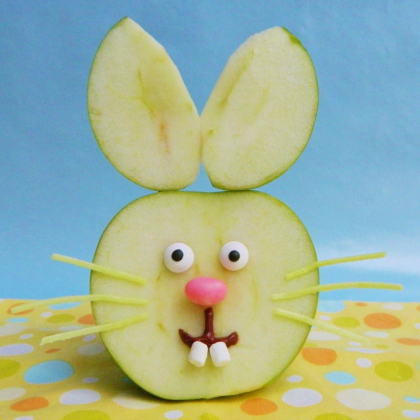 apple bunny