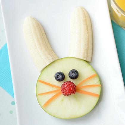 bunny fruit snack