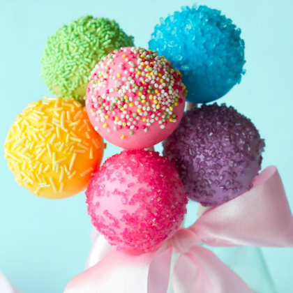 colorful pops