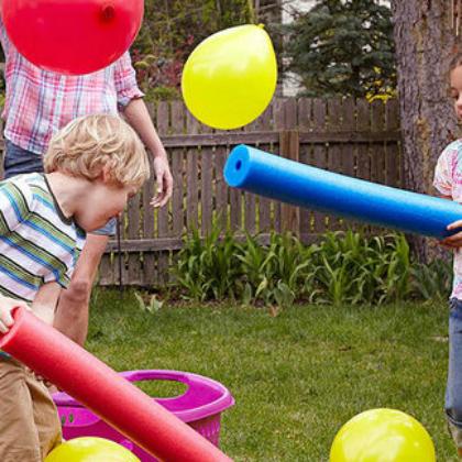 cooperative balloon scooping