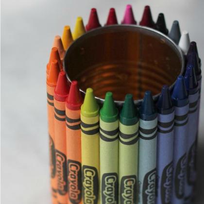 crayola vase