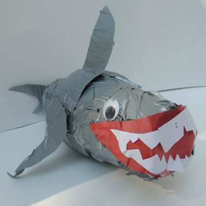 duct tape shark