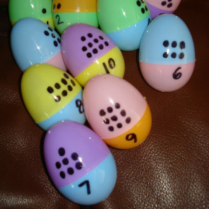 egg counting dots