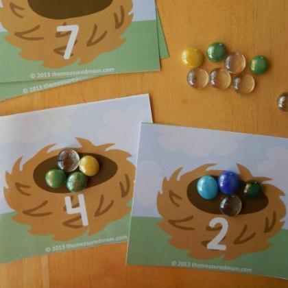 egg counting mats