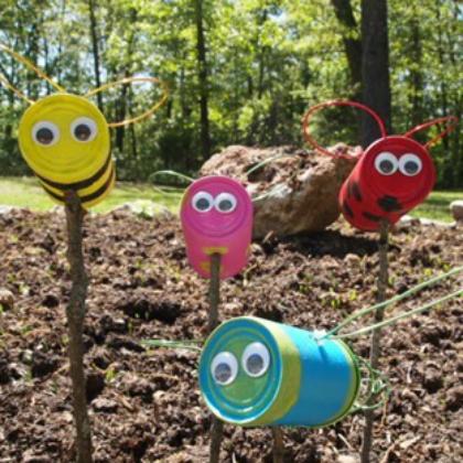 garden creatures