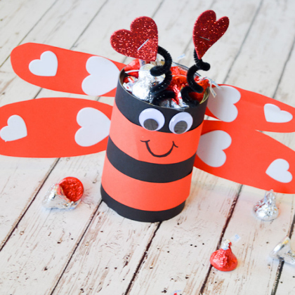 love bug candy holder