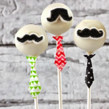 mustache pops