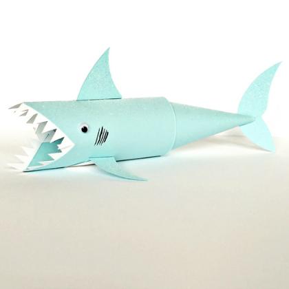 paper tube shark
