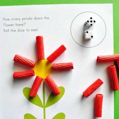 petal counting dice game