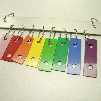 recycled xylophone
