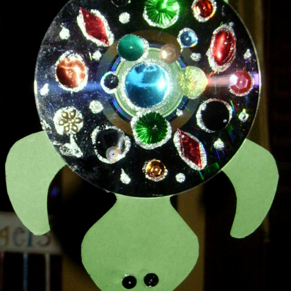 sparkly turtle