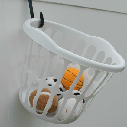two piece basketball hoop