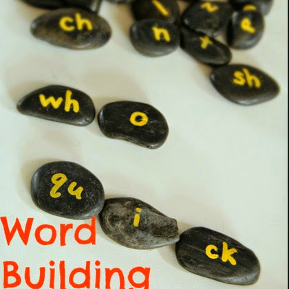 word building rocks