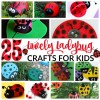 25 Lovely Ladybug Crafts For Kids