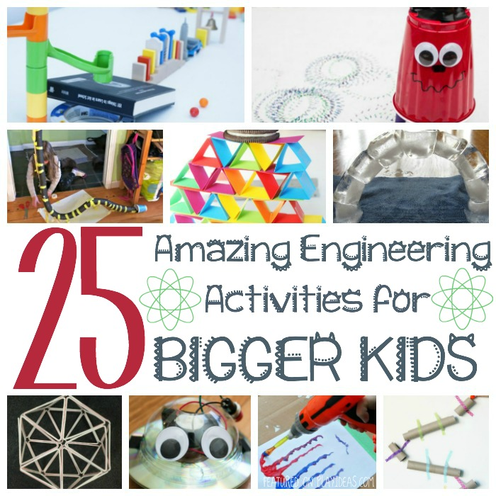 25 amazing engineering activities for bigger kids Featured