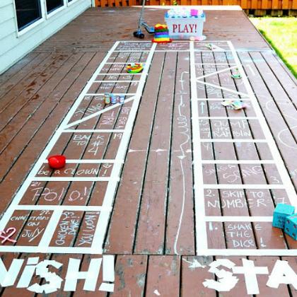 backyard board game