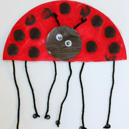 half ladybug