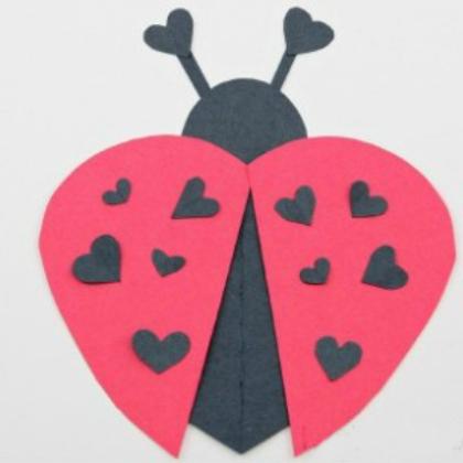 heart ladybug
