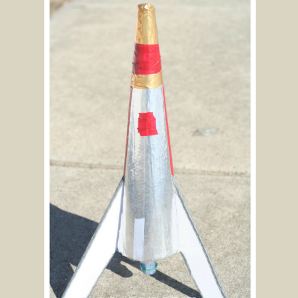 homemade rocket