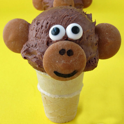 ice cream monkey