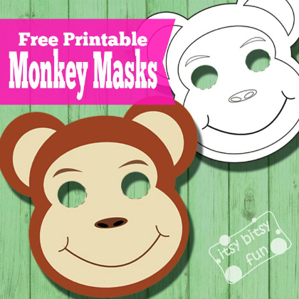 Curious George Inspired Paper Plate Monkey Craft - Smashed Peas ... | 420x420