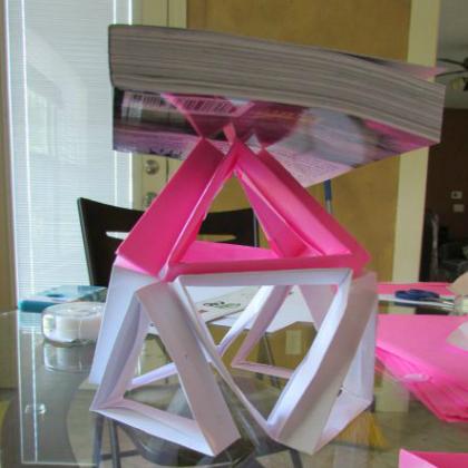 paper building challenge