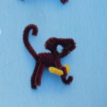 pipe cleaner monkey