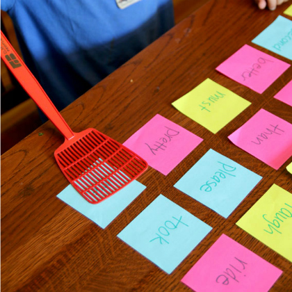 sight word swat game for learning to read