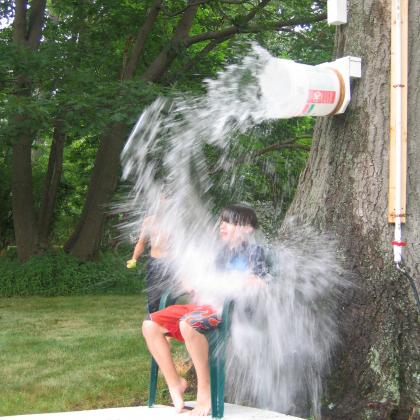 target splash down