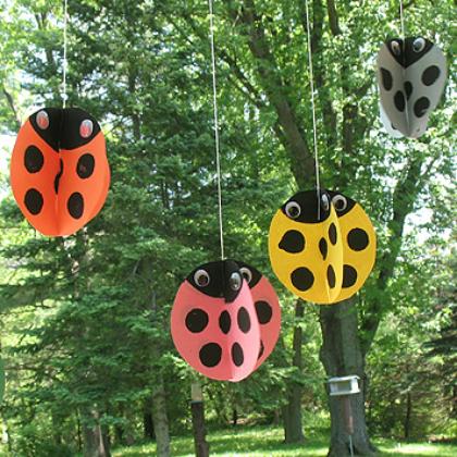 twirling ladybugs