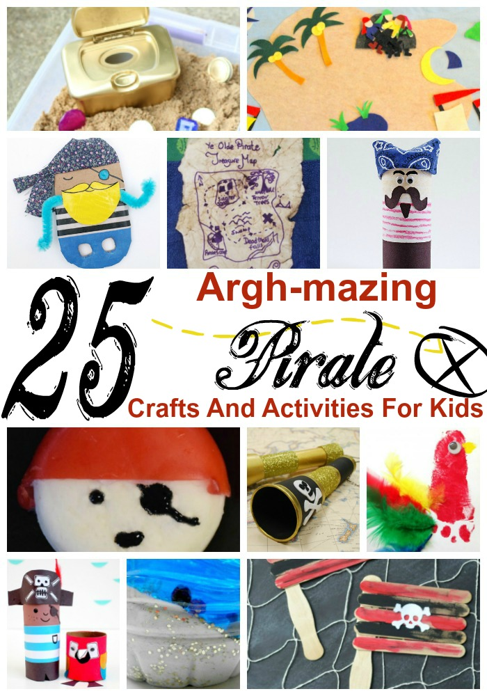 25 Argh-mazing Pirate Crafts And Activities For Kids