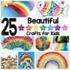 25 Beautiful Rainbow Crafts for Kids