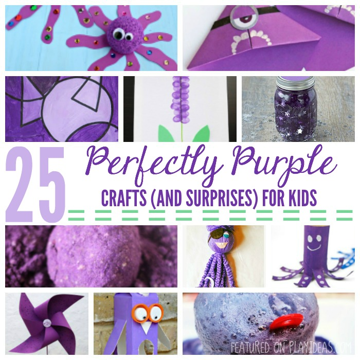 25 Perfectly Purple Crafts (And Surprises) For Kids FEATURED