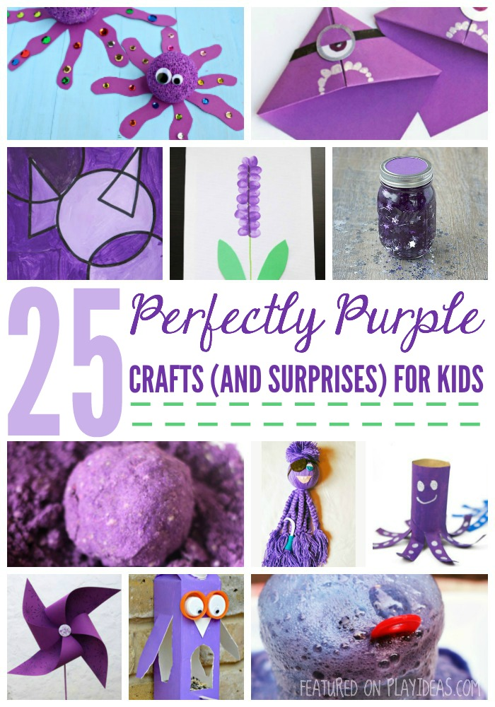 25 Perfectly Purple Crafts (And Surprises) For Kids