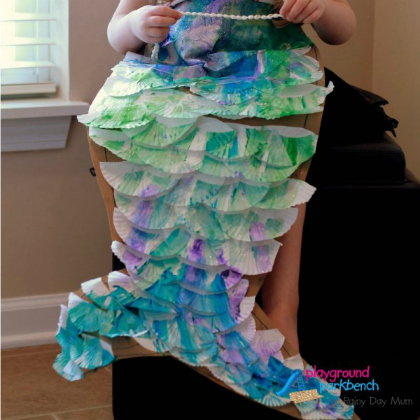 diy mermaid tail