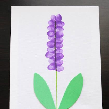 fingerprint flower
