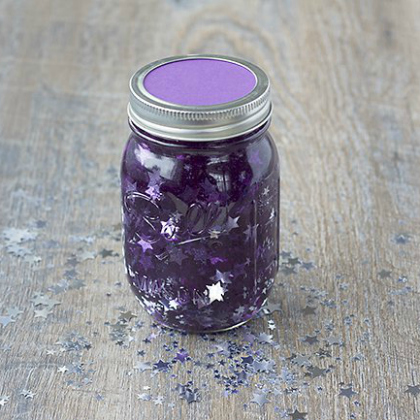 galaxy night time jar